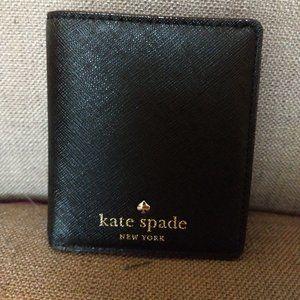 Small Kate Spade Black Wallet